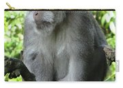 Balinese Monkey In Tree Carry-all Pouch