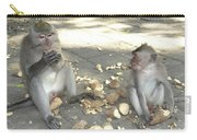 Balinese Monkeys Eating Carry-all Pouch