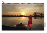 Balinese Orange Sunset With Drink Carry-all Pouch