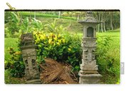 Balinese Rice Field Shrines Carry-all Pouch