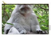 Balinese Serious Monkey Carry-all Pouch