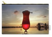 Balinese Sunset With Red Drink Carry-all Pouch