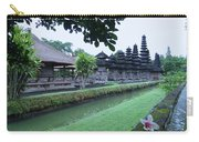 Balinese Temple With Flower Carry-all Pouch