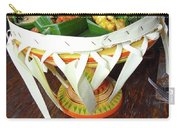 Balinese Traditional Dinner Basket Carry-all Pouch