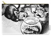 Balkan Cartoon, 1939 Carry-all Pouch