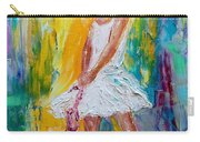 Ballerina Before The Dance Carry-all Pouch