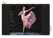 Ballerina Dancing Expressive Carry-all Pouch