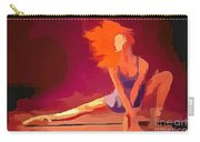 Ballerina Red Carry-all Pouch