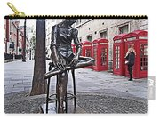 Ballerina Statue And Telephone Boxes Carry-all Pouch