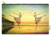 Ballet At The Pier Carry-all Pouch