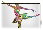 Ballet Dancer-colorful Carry-all Pouch