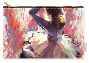 Ballet Dancer Siting  Carry-all Pouch