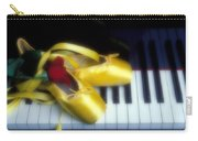 Ballet Shoes On Piano Keys Carry-all Pouch by Garry Gay