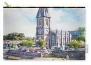 Ballina Cathedral On River Moy Carry-all Pouch