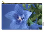 Balloon Flowers - Blooms And Buds Carry-all Pouch