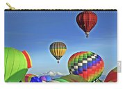 Ballooning Above Longs Peak Carry-all Pouch
