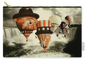 Balloons Over Niagara - Fantasy Collage Carry-all Pouch