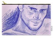 Ballpointpenportrait Carry-all Pouch