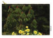 Balsamroot And Evergreen Carry-all Pouch
