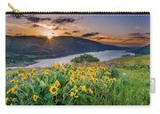 Balsamroot At Sunrise Carry-all Pouch