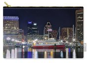 Baltimore Harbor At Night Carry-all Pouch