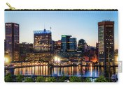 Baltimore Inner Harbor Reflections Carry-all Pouch