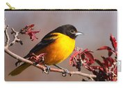 Baltimore Oriole In Crabapple Carry-all Pouch