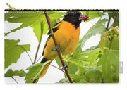 Baltimore Oriole With Raspberry  Carry-all Pouch