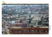 Baltimore Rooftops Carry-all Pouch by Carol Groenen