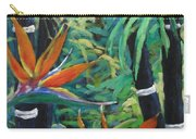 Bamboo And Birds Of Paradise Carry-all Pouch