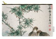 Bamboo And Chicken Carry-all Pouch
