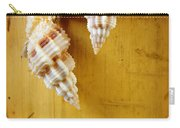 Bamboo And Conches Carry-all Pouch