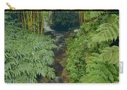 100837-bamboo And Ferns Creek  Carry-all Pouch