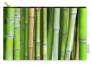 Bamboo Background Carry-all Pouch by Carlos Caetano