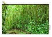 Bamboo Forest Trail Carry-all Pouch