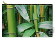 Bamboo Green Carry-all Pouch