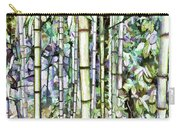 Bamboo Grove In A Botanical Garden Carry-all Pouch