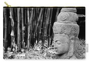 Bamboo Landscape  Statue Asian  Carry-all Pouch