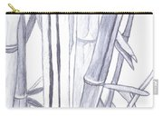 Bamboo Shade Carry-all Pouch