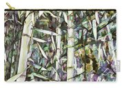 Bamboo Sprouts Forest Carry-all Pouch