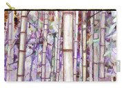 Bamboo Texture Carry-all Pouch