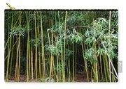 Bamboo Wind Chimes  Waimoku Falls Trail  Hana  Maui Hawaii Carry-all Pouch