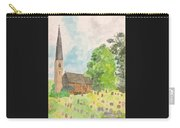 Bamford Church And Serenity Of Nature Carry-all Pouch