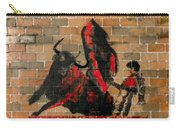 Ban Bullfighting Carry-all Pouch