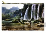 Ban Gioc Vietnam's Most Beautiful Waterfall  Carry-all Pouch