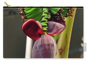 Banana Flower Carry-all Pouch