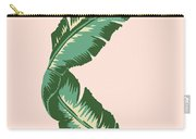 Banana Leaf Square Print Carry-all Pouch by Lauren Amelia Hughes