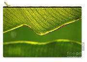 Banana Leaf Lines Carry-all Pouch