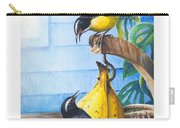 Bananaquits And Bananas Carry-all Pouch
