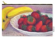 Bananas And Strawberries Carry-all Pouch